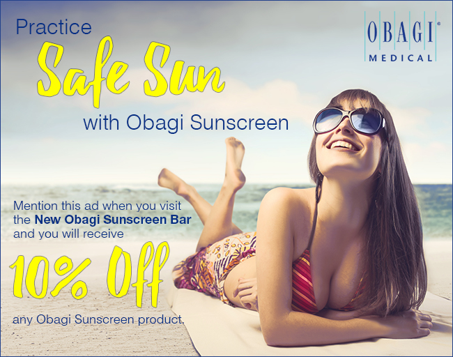 Sunscreen from Obagi